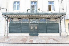 Vintage style shop in the centre of Lisbon, Portugal Stock Photography