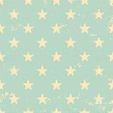 Vintage style stars seamless pattern Stock Photo