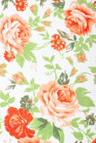 Vintage style of tapestry flowers fabric pattern Royalty Free Stock Photos