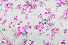 Vintage style of tapestry flowers fabric pattern Royalty Free Stock Photography