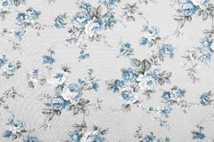 Vintage style of tapestry flowers fabric pattern Royalty Free Stock Images