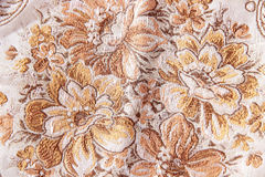 Vintage style of tapestry flowers fabric pattern Royalty Free Stock Image
