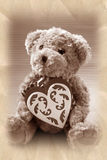 Vintage style teddy bear Royalty Free Stock Photography
