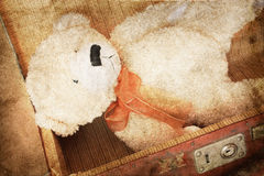 Vintage-style teddy bear Royalty Free Stock Photos