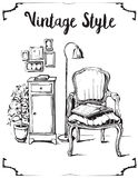 Vintage style Royalty Free Stock Photography