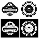 Vintage Style Vector Labels Collection royalty free illustration