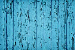 Vintage Style Wood Teal Blue Color Stock Photos
