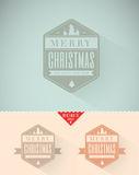 Vintage styled Christmas Card Stock Image