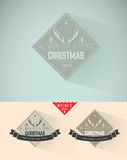 Vintage styled Christmas Card Stock Photography