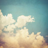 Vintage styled Cloudy Stock Photos