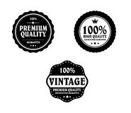 Vintage Styled Label Stock Photo