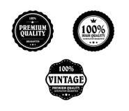 Vintage Styled Label Stock Photo