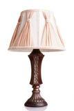 Vintage styled lamp isolated over white background Royalty Free Stock Image