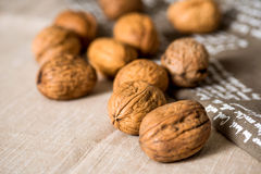 Vintage styled Mixed nuts Royalty Free Stock Images
