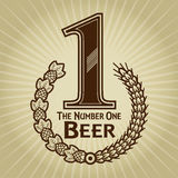 The Number One Beer Seal / Mark Stock Image