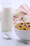 Vintage styling muesli cereal Royalty Free Stock Images