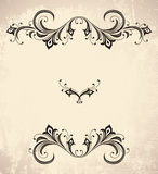 Vintage stylized frame Royalty Free Stock Photos