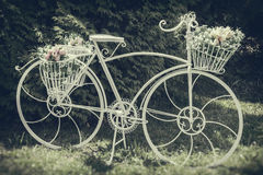 Vintage stylized photo of decorative bicycle Royalty Free Stock Image