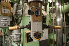 Vintage submarine torpedo room Royalty Free Stock Photography