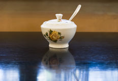 Vintage sugar bowl. Stock Photography