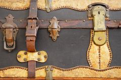 Vintage suitcase Stock Image