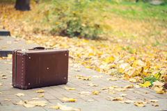 Vintage suitcase Stock Photography