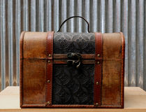 Vintage suitcase Stock Photo