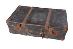 Vintage suitcase horizontal stock images