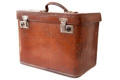 Vintage suitcase isolated on white background Royalty Free Stock Image