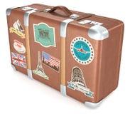 Vintage Suitcase. Royalty Free Stock Photos