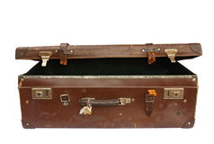 Vintage Suitcase (with Path) Stock Image