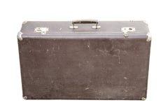 Vintage suitcase on white Royalty Free Stock Image