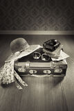 Vintage summer vacations Royalty Free Stock Photos