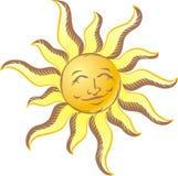 Vintage Sun Imagens de Stock
