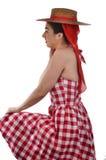 Vintage Sun Dress Stock Images