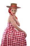 Vintage Sun Dress Royalty Free Stock Photos