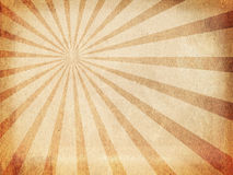 Vintage sunbeams background. Vintage paper background with sunbeams Royalty Free Stock Photos