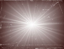 Vintage Sunburst Stock Image