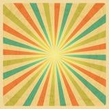 Vintage Sunburst Background Stock Image