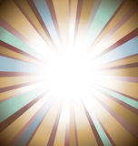Vintage sunburst background Stock Photos