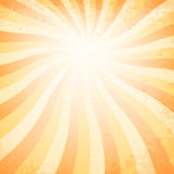 Vintage sunset background. 10 eps Stock Image
