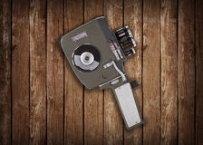 Vintage  super eight film camera Stock Photo