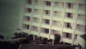 (Vintage 8 super) os anos 80 luxuosos encalham o hotel vídeos de arquivo