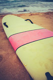 Vintage Surf Board Stock Images