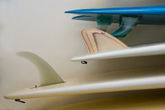 Vintage surfboards Royalty Free Stock Photo