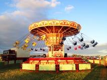 Free Vintage Swing Ride Caroussel Royalty Free Stock Images - 98799299
