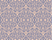 Vintage swirl, seamless pattern background vector Stock Photography