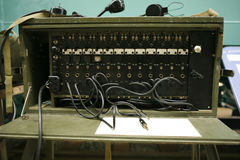 Vintage Switchboard. Royalty Free Stock Photography