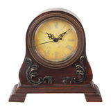 Vintage table clock Royalty Free Stock Photos