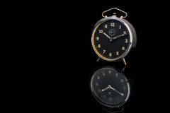 Vintage table clock Stock Photo